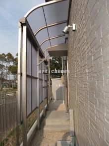 施工事例 勝手口のテラス(TOEXのサンクテラスⅡRタイプ)のイメージ画像