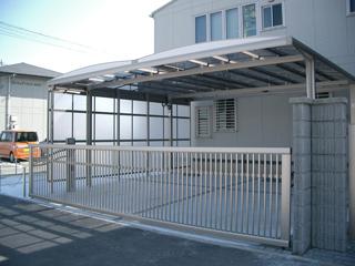 玄関まわり・カーポート・フェンス 春日井市S様邸