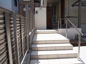 玄関まわり・アプローチ・フェンス 名古屋市天白区N様邸