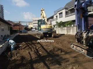アスファルト舗装の駐車場工事 一宮市のイメージ画像
