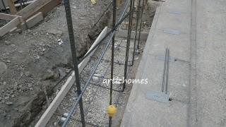エクステリア工事 境界ブロック