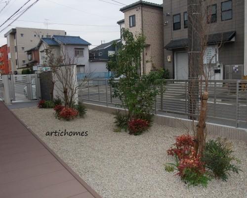 緑あふれるお庭へ 植栽工事 | 名古屋市西区